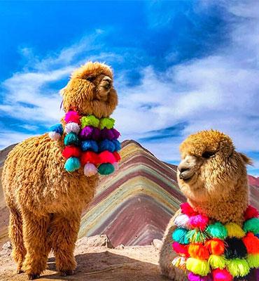 Rainbow Mountains Cusco